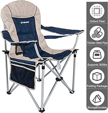 Lightweight Folding Camping Chair Portable Gear Fabric Easy Installation