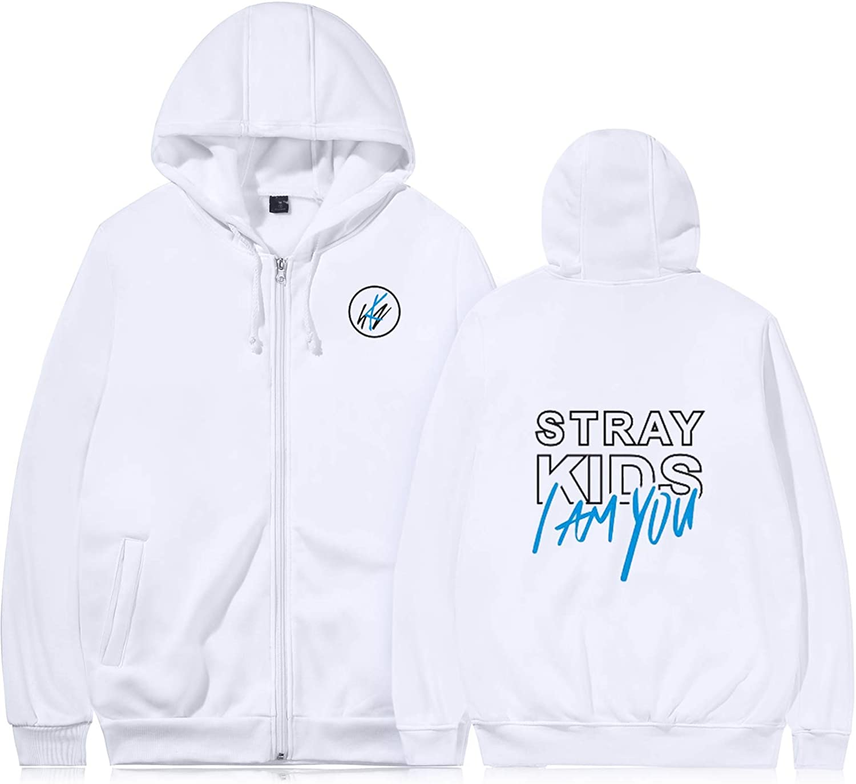 ACEFAST INC Kpop Stray Kids Cle Levanter Hoodie Sweatshirt Felix Jisung Minho Sweater