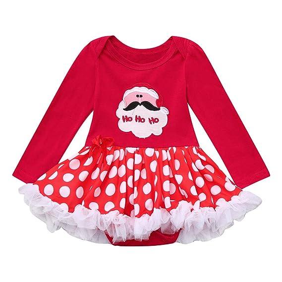 K-youth Navidad Fiesta Vestido Bebe Niña Disfraz Ropa para ...