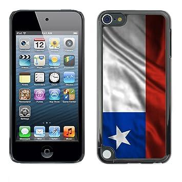 188a435fa05 FJCases Chile Chileno Bandera Ondeante Carcasa Funda Rigida para Apple iPod  Touch 5: Amazon.es: Electrónica