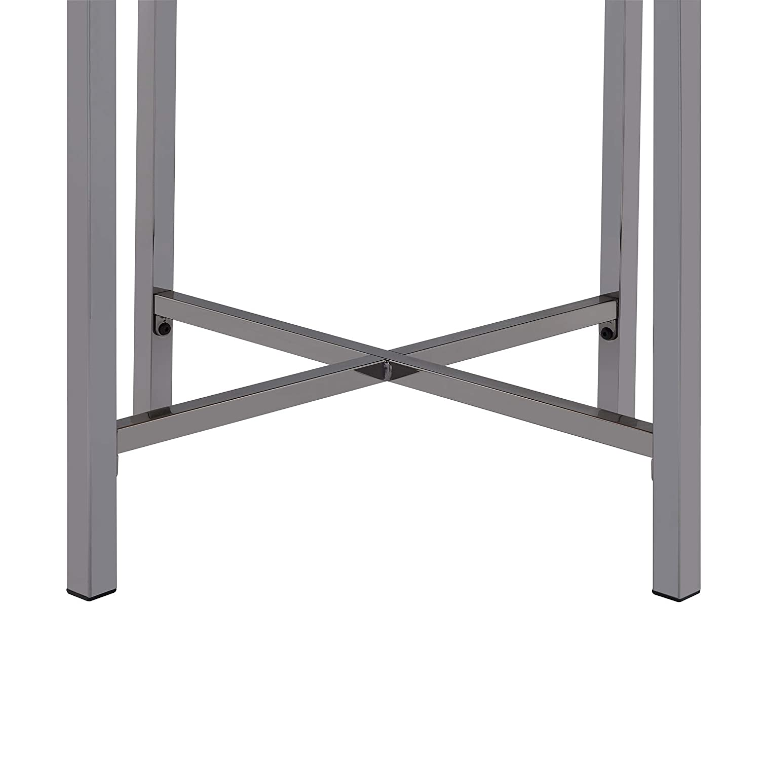 Abbey Avenue at-BRD-ETE Bradford Round End Table Gold//Slate