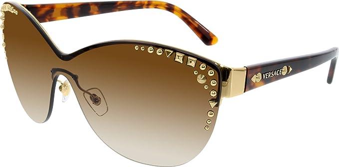 a2dcfa3b502eb Versace Gafas de Sol MOD. 2152 (45 mm) Dorado  Amazon.es  Ropa y accesorios