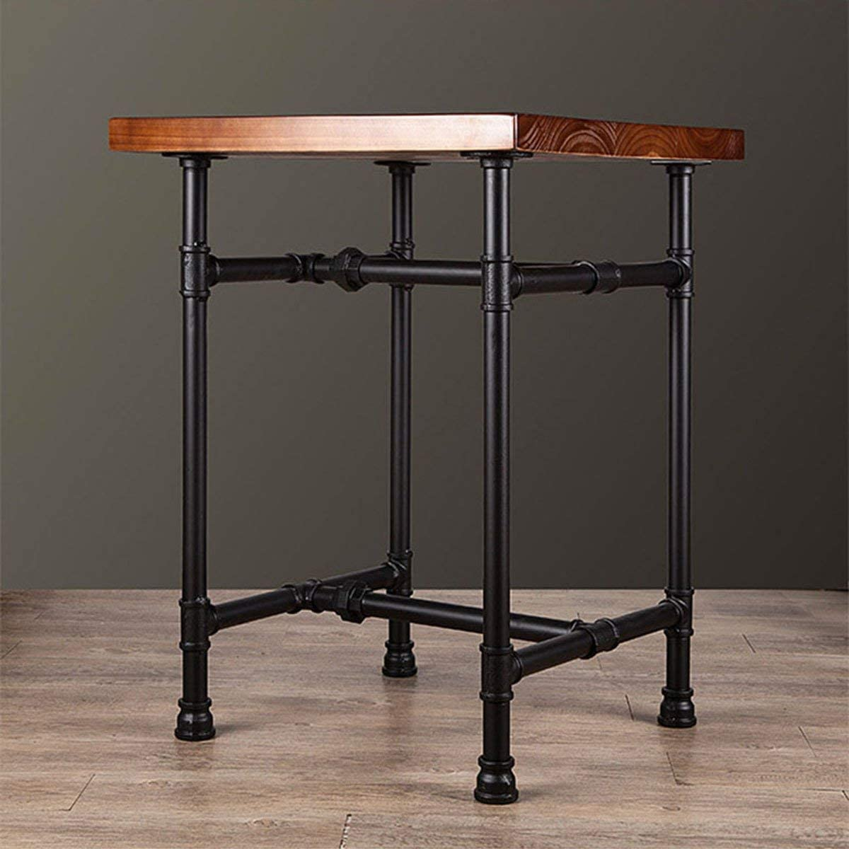 Bar Table//Home Set//Living Room Set//Dining Room Coffee Table 24 Inch Industrial Rustic Iron Pipe Entry Table Metal Legs End Table Side Table