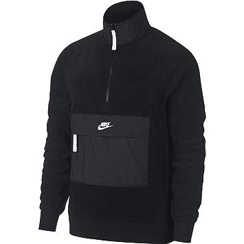 Nike 9 Chaqueta Cremallera Y Bolsillo Canguro Polar 929097 010 (S)