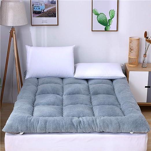 Funda para colchón de doble cara de algodón con forro polar de 10 ...