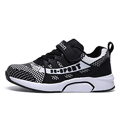 Boys Girls Kids Sport Sneakers Breathable Casual Running Mesh Trainers Shoes US