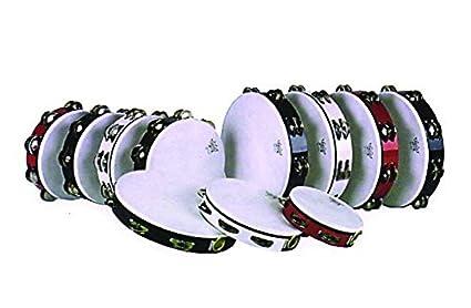 Double; Age 12 Lernspielzeug Remo 10 Inch Melinex Tambourine