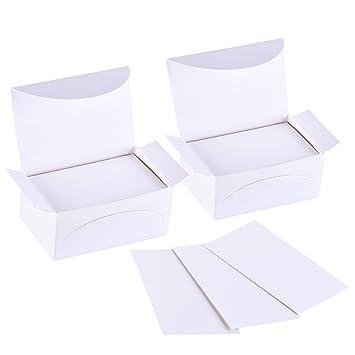 Sumind 200 Pices Papier Kraft Vierge Cartes Carte De Visite Pour Les Tiquettes Cadeaux