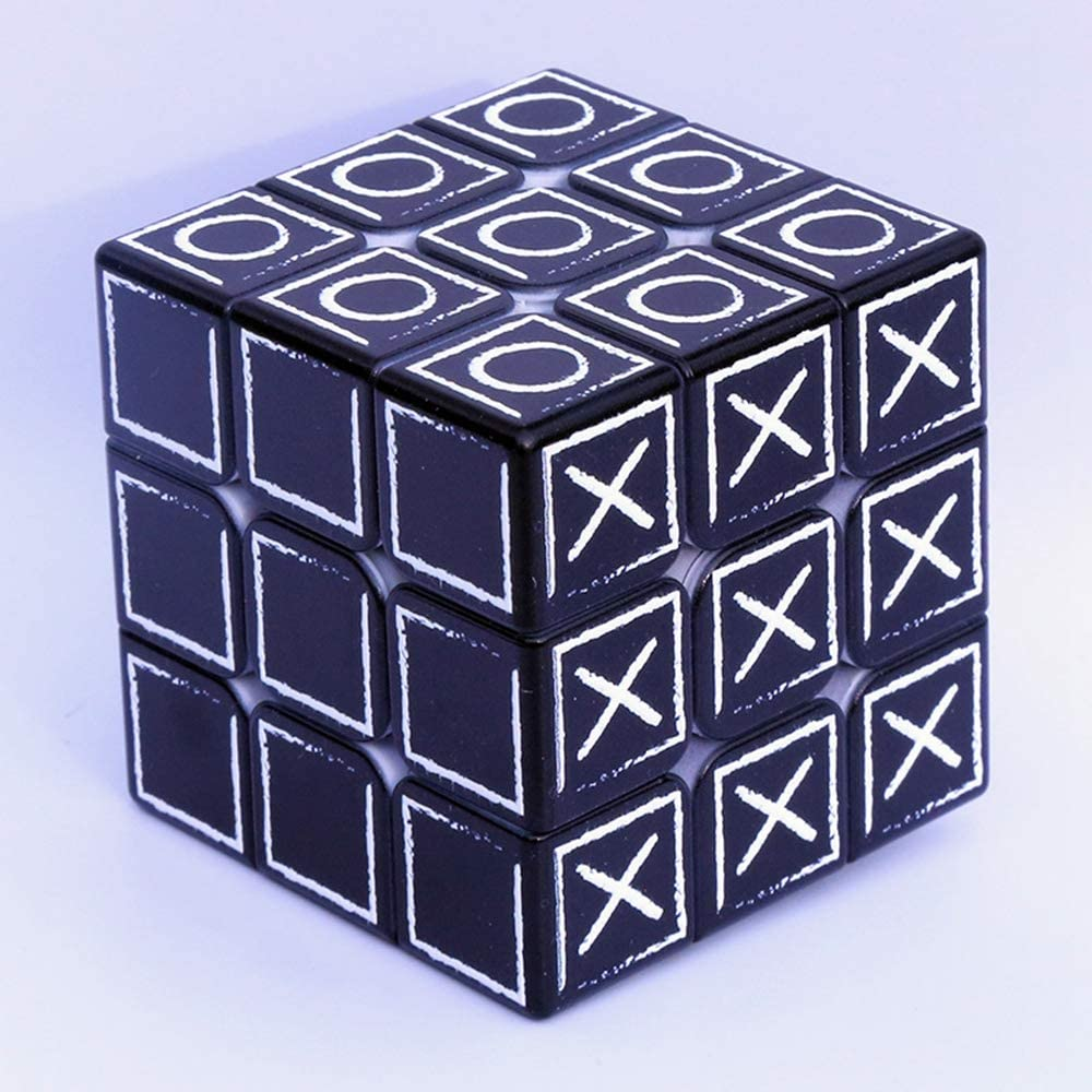 Speed Cube 3*3*3 3D Relief Effect Braille Magic Cube Puzzle Game Puzzles