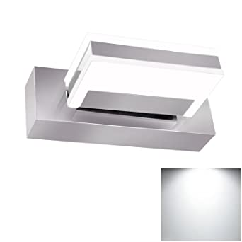 Bathroom Mirror Light Fixture Jentinsun 3W LED Modern Waterproof