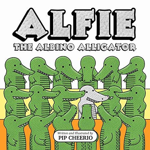 Alfie, The Albino Alligator