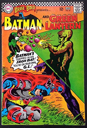 Brave and the Bold (1955) #69 FN+ (6.5) Batman and Green Lantern