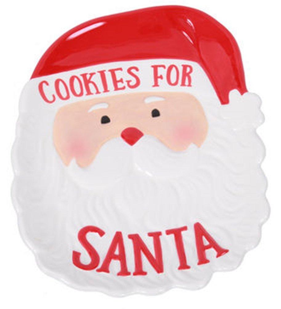 Santa Claus Cookies for Santa Plates Page Four