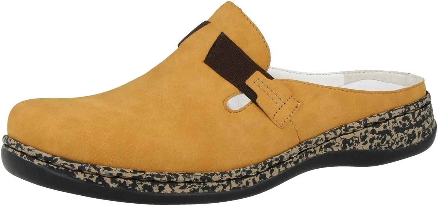 Rieker 63454, Mules Femme: : Chaussures et Sacs