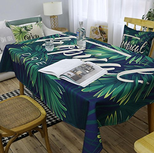 Longless Pastoral Feng Shui comedor sabanas de algodon de estar mesa de arte del pano impermeable mantel 140 * 2