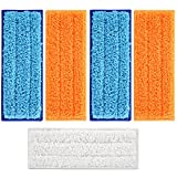 5 Packs Washable Mopping Pads for iRobot Braava Jet 240 241 by isinlive