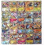 100 Pcs Pokemon EX GX MEGA Trainer Energy Cards(80EX+20MEGA) -m036