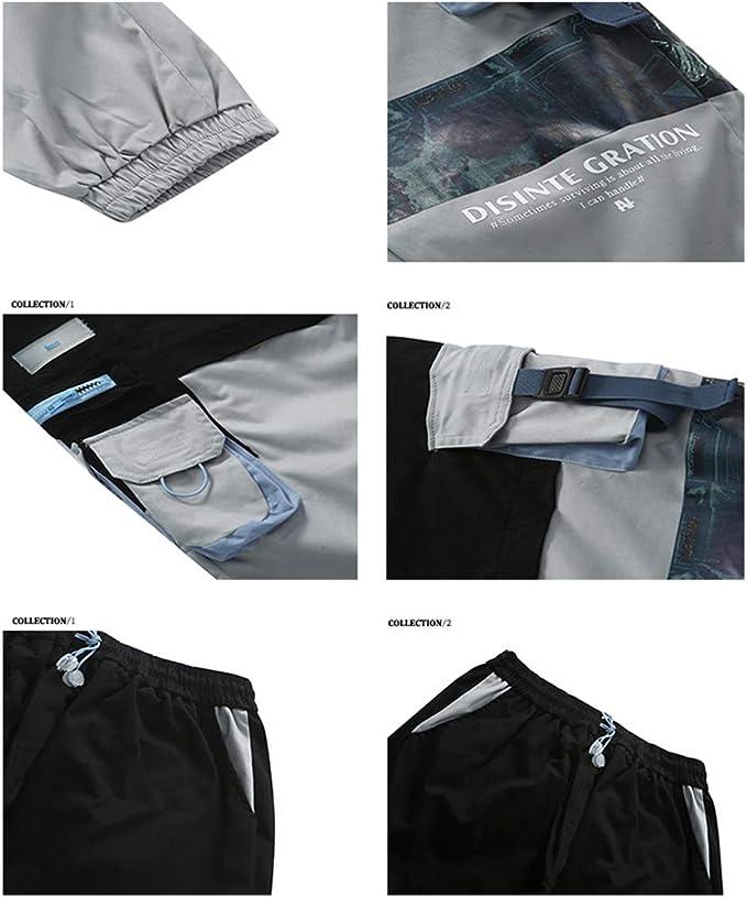 DEBAIJIA Pantaloni da Donna Pantaloni Scozzesi Stampa Gamba Dritta Loungewear Wide Young Streetwear Moda Hip Hop Tide Retro Moda Casual Patchwork per Lo Sport Tempo Libero Outdoor