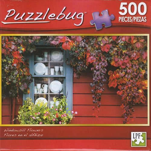 Puzzlebug 500 - Windowsill Flowers by LPF