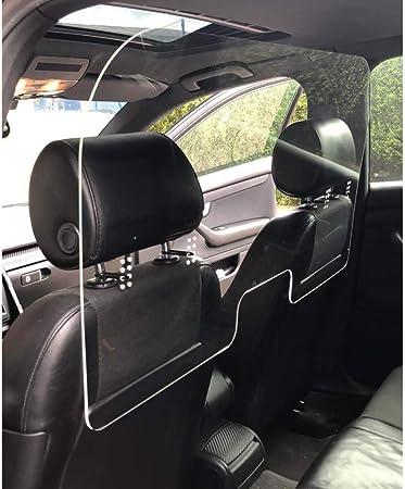 Pantalla/Mampara protección | Indicada para Taxis | Fácil Montaje | Sujeción con Bridas | 1000x500x2 mm.: Amazon.es: Hogar