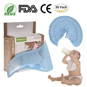 Amazon.com: 30 pcs leche en polvo bolsas de almacenamiento ...