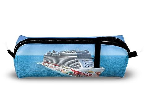 Amazon.com: Pencil Case Pen Bag Cruise Ship Pouch Stationary ...