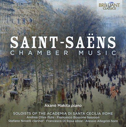 Price comparison product image Saint-Saens: Chamber Music by Akan Makita (2015-08-03)