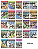 Career Exploration and Education Laminated (Set of 23) Posters Showing Different Jobs and Their Attributions