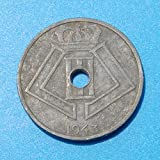 1943 BE Leopold III Centime Very Good