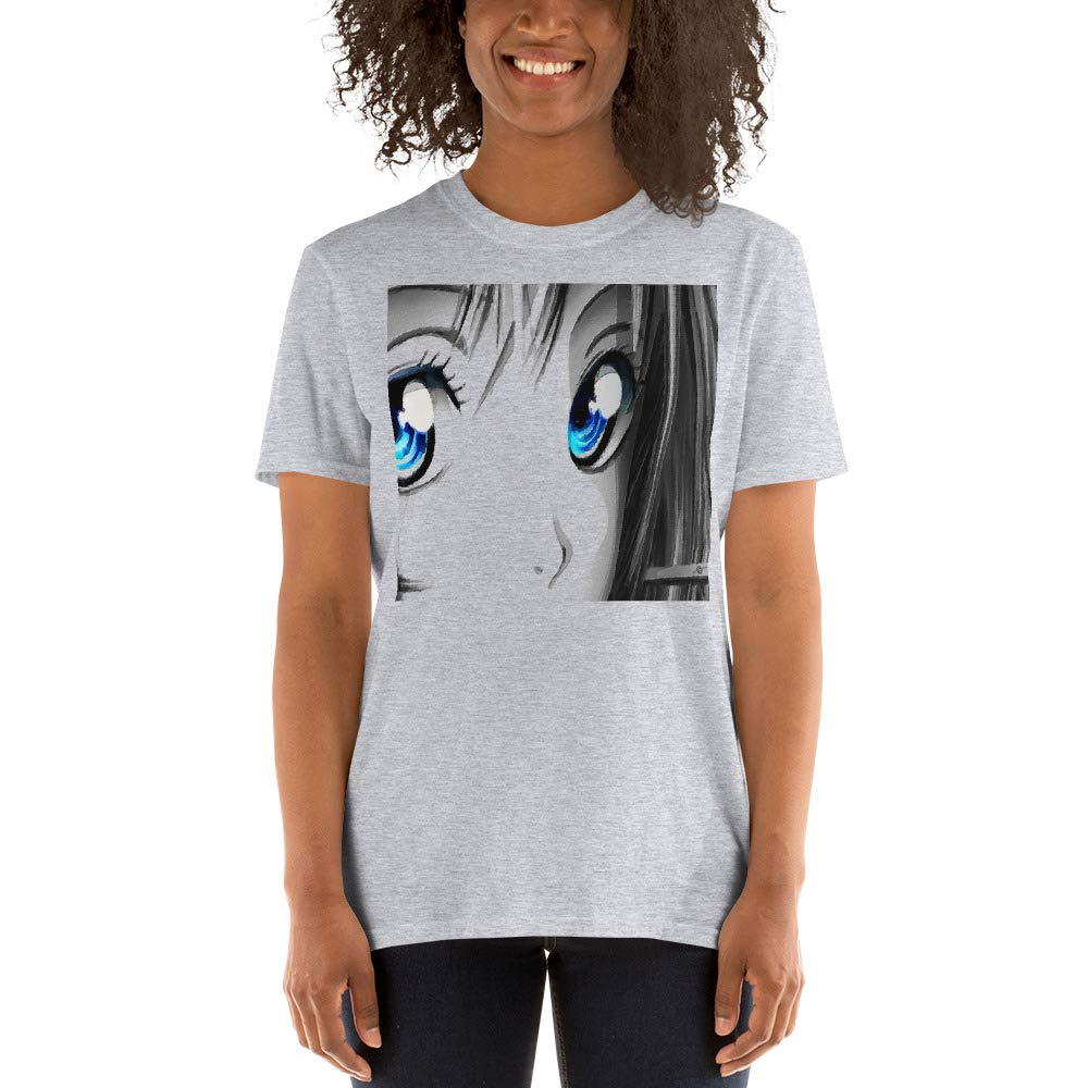Tony Rubino Anime Manga Cosplay Tees Tee White Gray Short-Sleeve Unisex T-Shirt