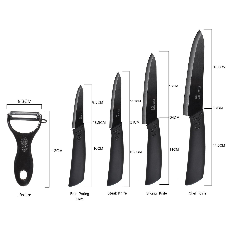 Ceramic Knife Set Nano ID Modern Kitchen Knife Very Sharp by NANO ID (Image #6)