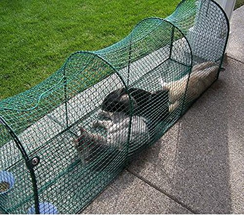 Patio Netting For Cats: Kittywalk Outdoor Net Cat Enclosure For Decks, Patios
