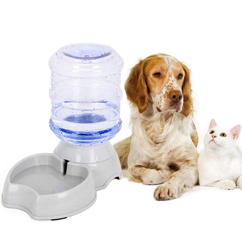 Blessed family Cat Water Fountain,Automatic Cat Feeder,Dog Water Dispenser,1 Gal Pet Automatic Feeder Waterer