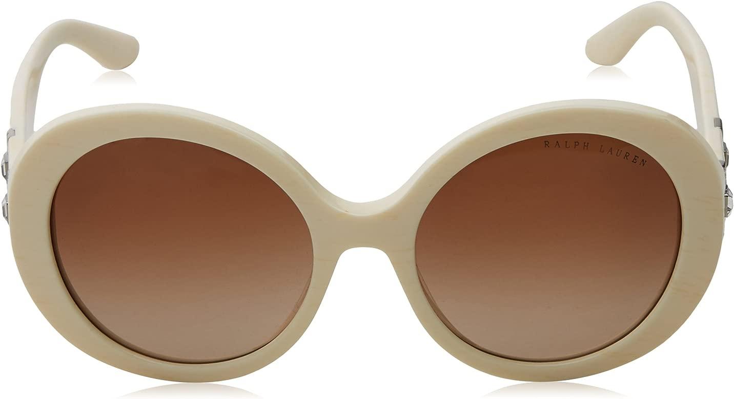 Ralph Lauren 0Rl8145B, Gafas de Sol para Mujer, Marrón (Bone), 53: Amazon.es: Ropa y accesorios