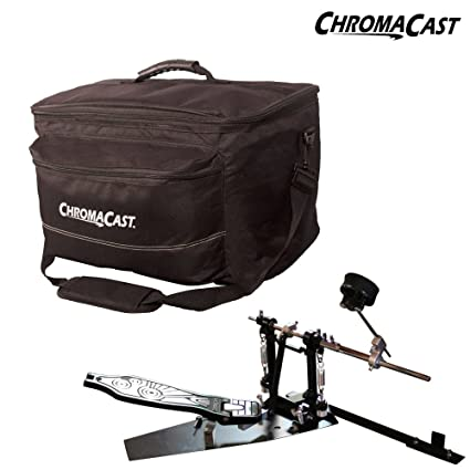 Amazon.com: ChromaCast (CC-CPDL-MGB-BAG-L) Pro Series Direct Drive Cajon Pedal & Large Musicians Gear Bag Combo Pack: Musical Instruments