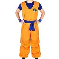 CoolChange Dragon Ball Son Goku costume da 3 pezzi de Il Genio Tartaruga, Taglia: L