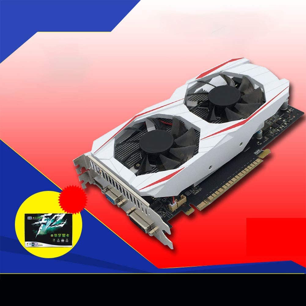 OUYAWEI Electronics Independent GTX750Ti 2GB DDR5 Game Graphics Cards GTS450 PCI Express 2.0 for Desktop