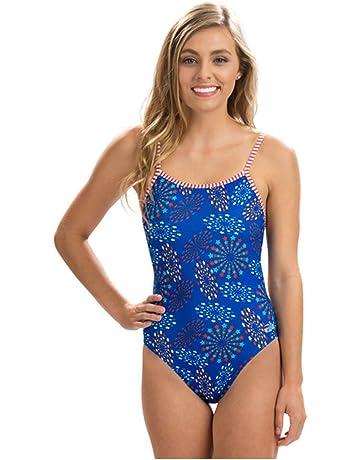 Dolfin Women s Uglies Double Strap Back One Piece Swimsuit 912920345
