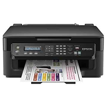 Epson Workforce WF-2510WF Inyección de Tinta 34 ppm 5760 x 1440 ...