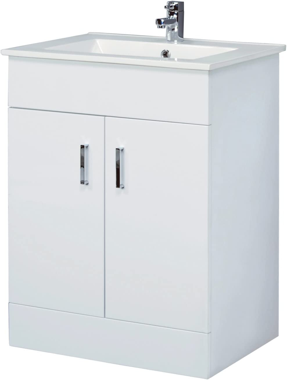 Home Standard Designer Bathroom Furniture (Floor Standing, Ice Cube)
