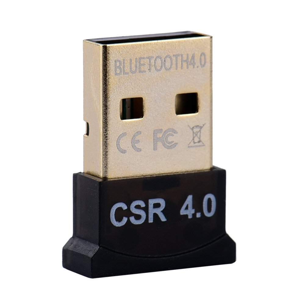 Windows 7 32//64 Win8 POIUDE Adaptador Inal/ámbrico USB 2.0 Bluetooth V4.0 Dongle para Windows XP Vista