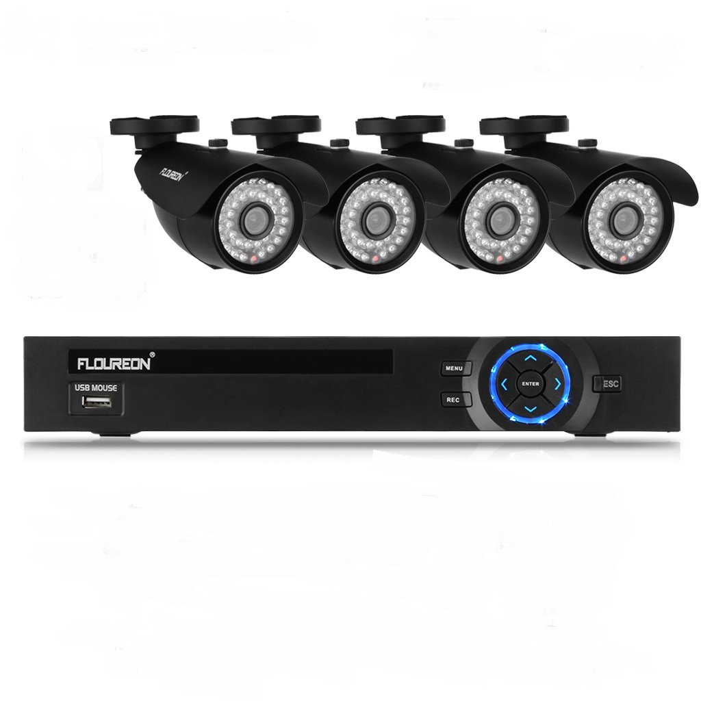 FLOUREON 8 Kanal 8CH 960H CCTV DVR + 4 1000TVL Outdoor: Amazon.de ...
