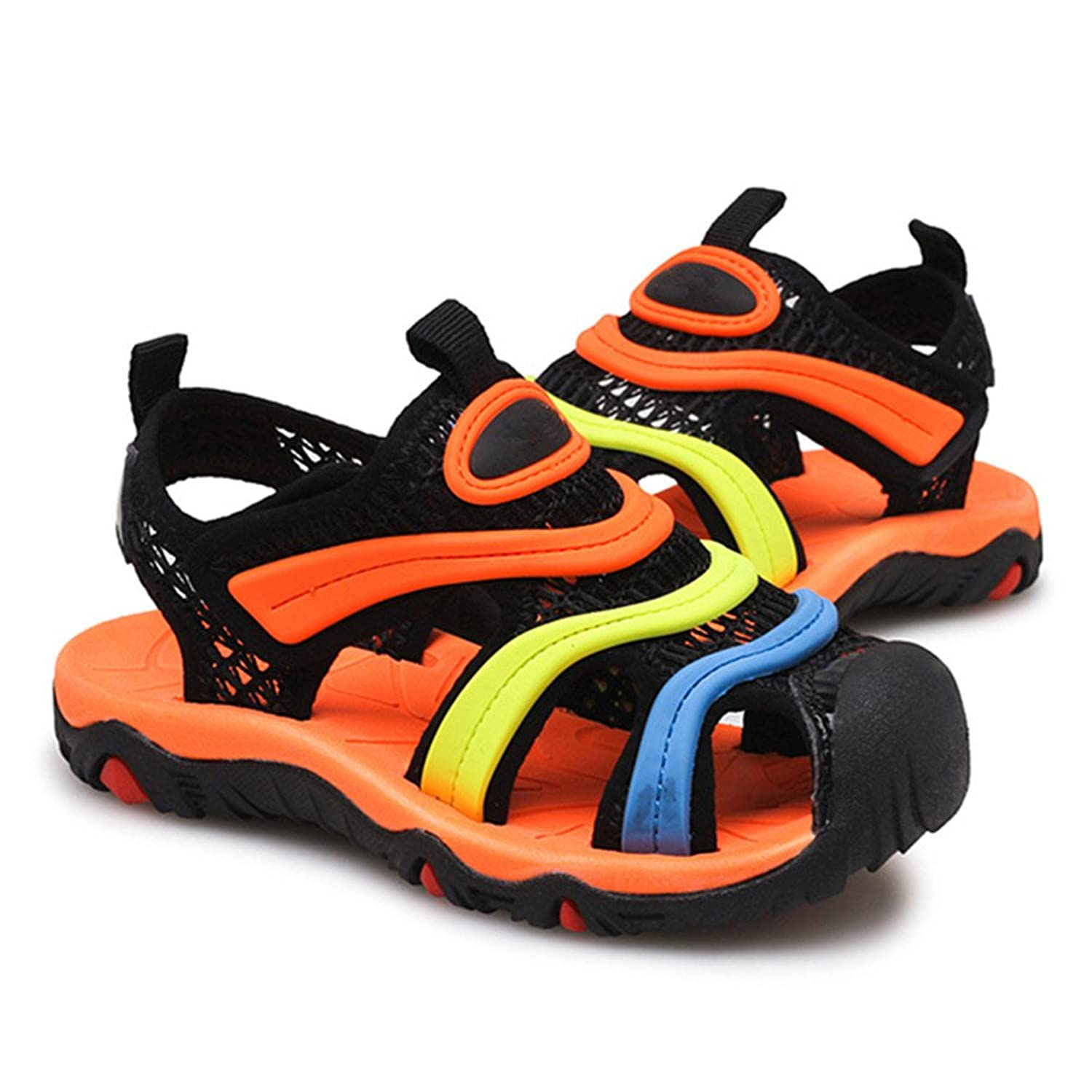 Adventure Seeker Mesh Sandal Convenient Velcro Rubber Sole Summer Shoes for  4-12Years Boys Girls Unisex-Child: Amazon.ca: Shoes & Handbags