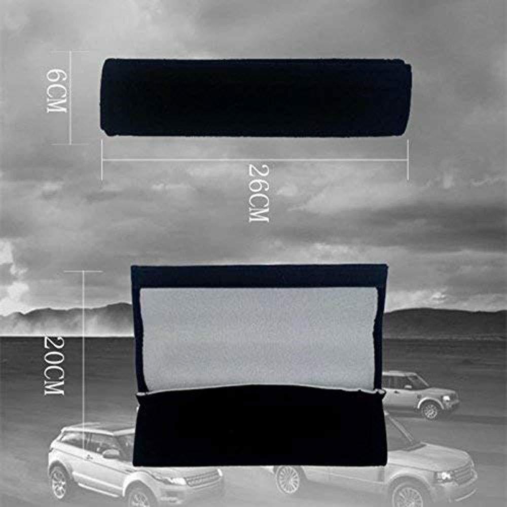 YYD Auto Seat Belt Shoulder Pads Gurtbez/üge Kissen Reduzieren Sie die Nackenreibung,Corvette