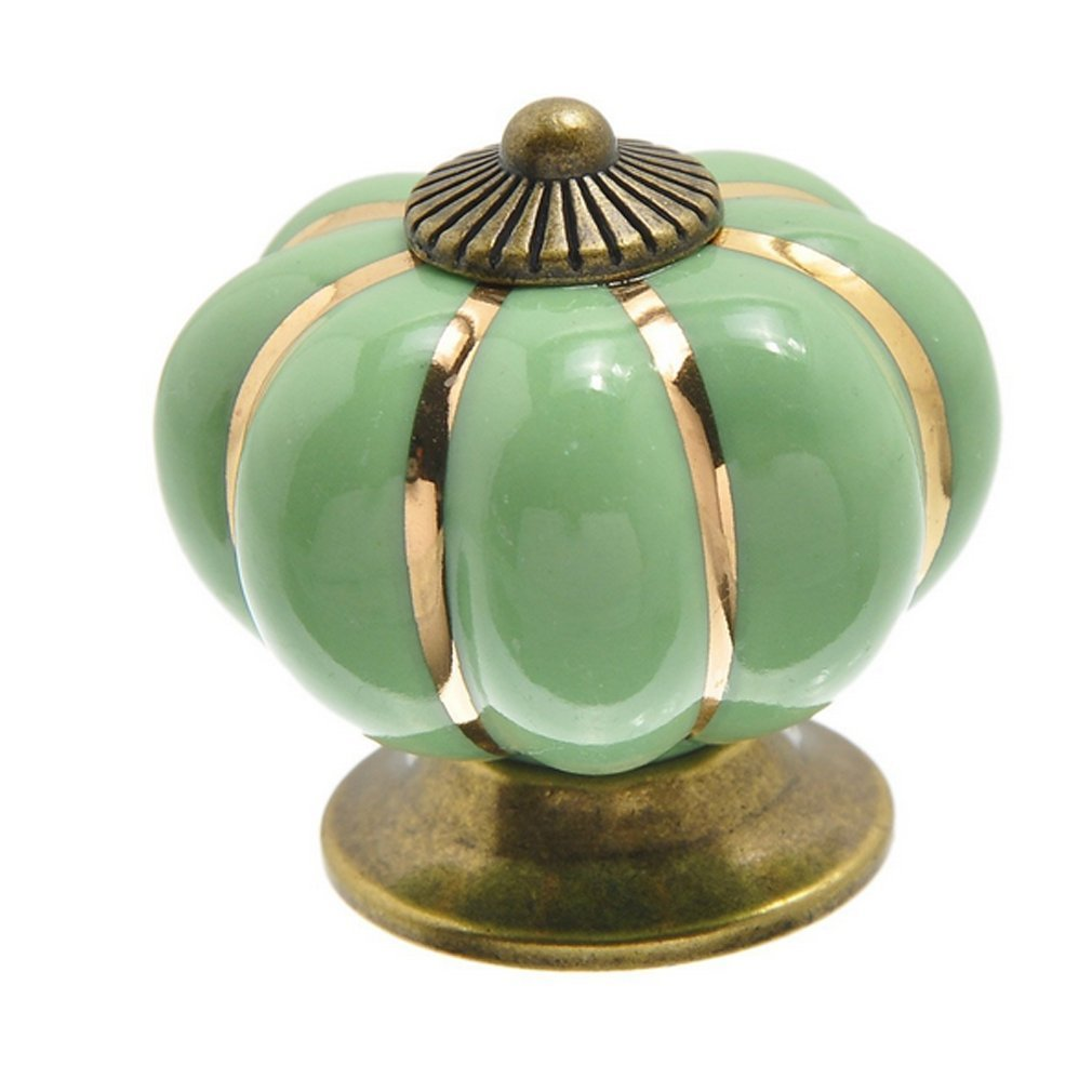 Handle Doors Pull Drawer Cabinets for Cupboards Green Colour Coloured Knob