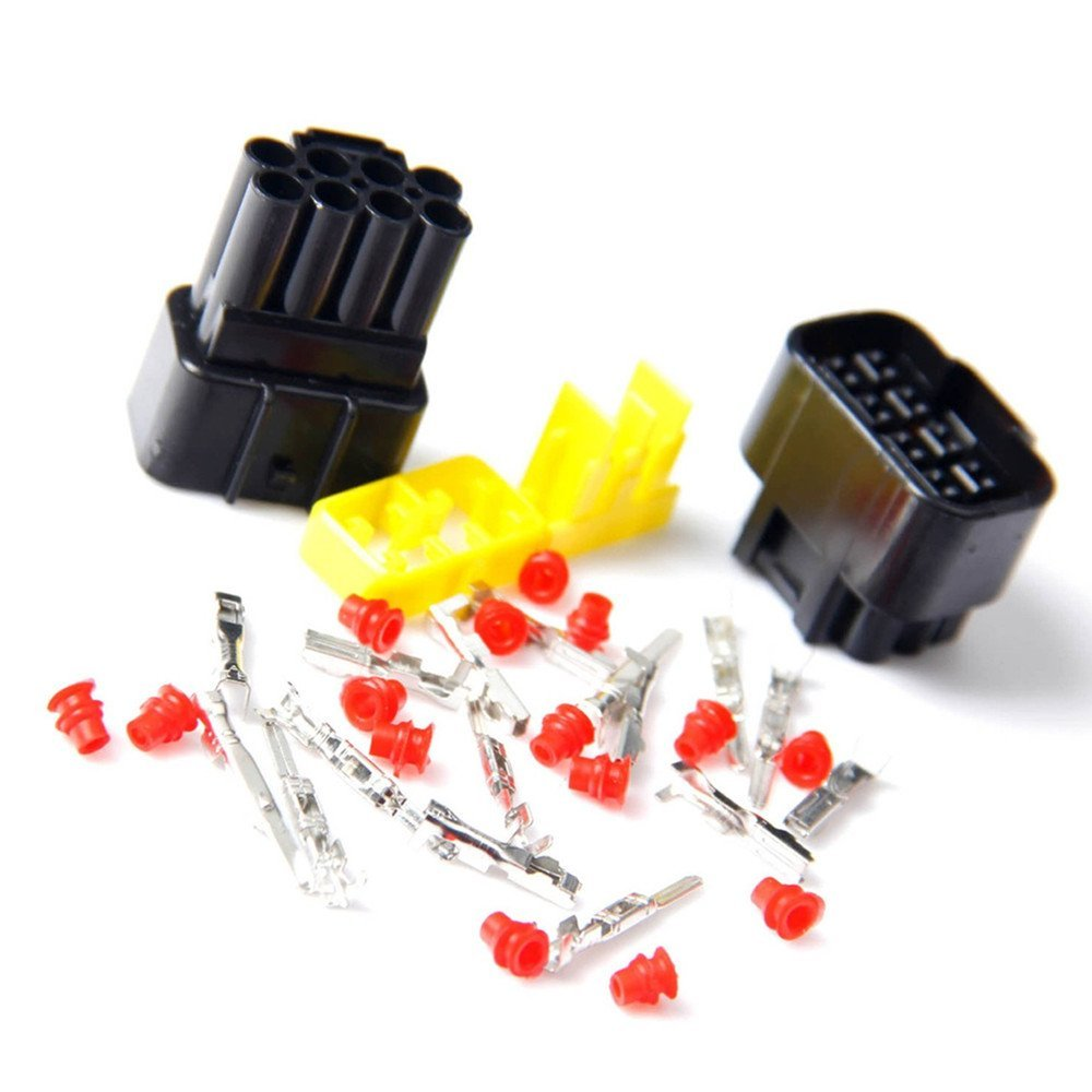 Qiorange Wire Cable Connector Plug In 8 Pins Way Buy Auto Car Connectorauto Electrical Connectorwiring Waterproof Sets Hid 8pin 2 Set Automotive