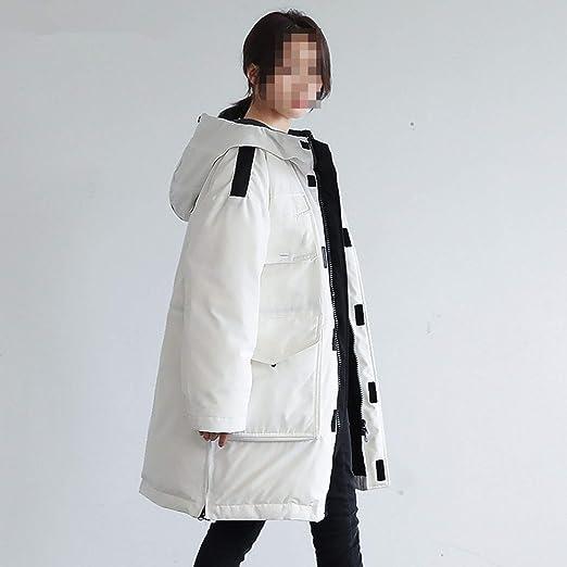 Amazon.com: 90% Duck Down Jacket Women Canada Style Parka Winter Coat Women Long Coats Loose Overcoat: Clothing