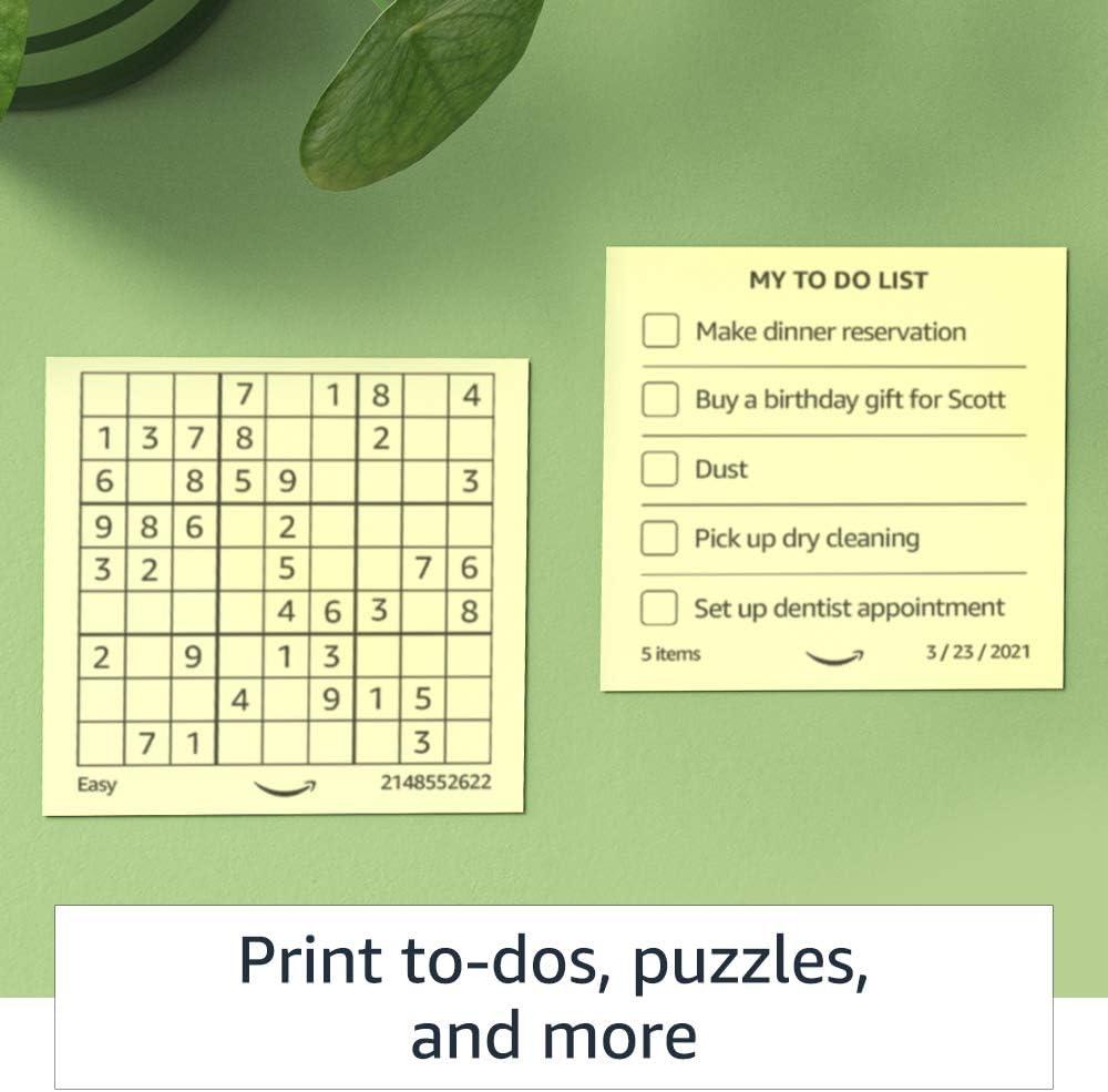 Amazon y su impresora de notas