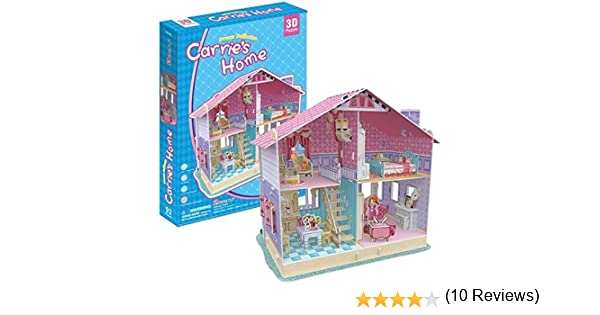 3D Puzzle Honey Room-Kitchen CubicFun 3D Puzzle P658h 61 Pieces Decorative Fashion Best Seller Cubic Fun Exiting Fun Educational Historic Playing Building Game DIY Holiday kids Best Gift Toy Set