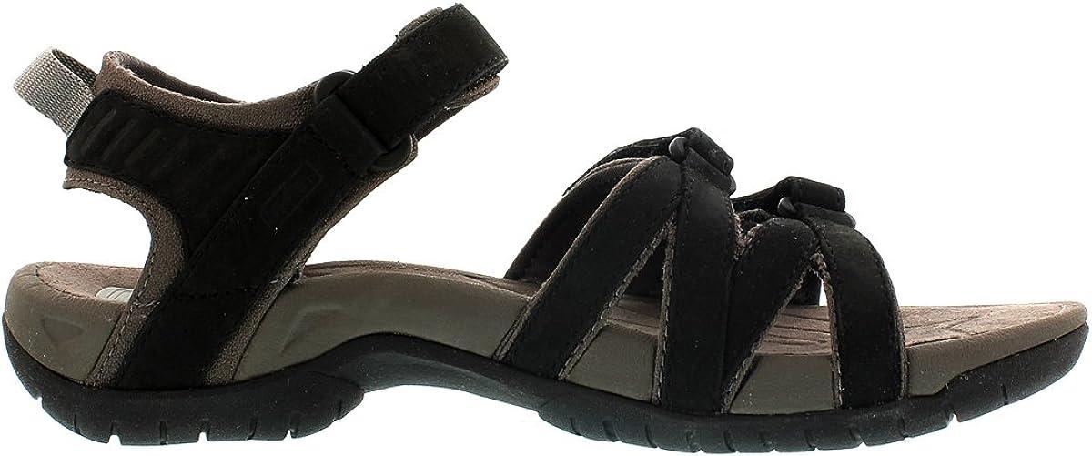 Teva Damen Tirra Leather Womens Peeptoe Sandalen